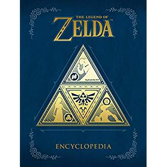 The Legend of Zelda - The Legend of Zelda Encyclopedia Hardcover Book