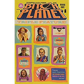 BITCH PLANET TRIPLE FEATURE TP VOL 01