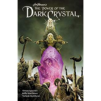 JIM HENSON POWER OF DARK CRYSTAL HC VOL 01