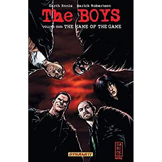 THE BOYS TP VOL 01 NAME OF THE GAME