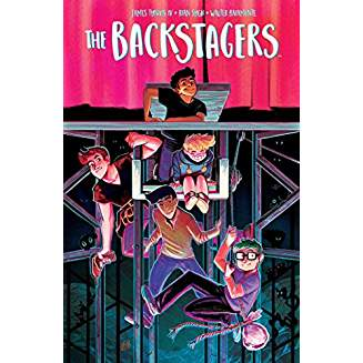 BACKSTAGERS TP VOL 01