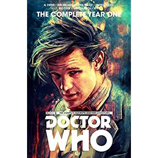DOCTOR WHO THE 11TH DOCTOR COMPLETE EDITION YEAR ONE HC