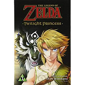 LEGEND OF ZELDA TWILIGHT PRINCESS GN VOL 01