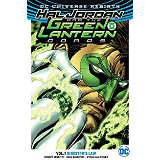 Hal Jordan and the Green Lantern Corps Vol. 1 Sinestro's Law