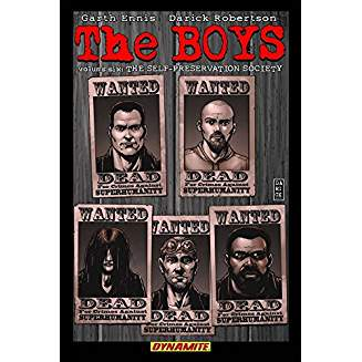 THE BOYS TP VOL 06 THE SELF-PRESERVATION SOCIETY SGN ED