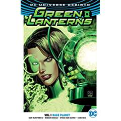 Green Lanterns Vol. 1: Rage Planet