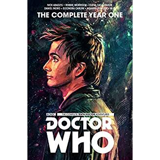 DOCTOR WHO THE 10TH DOCTOR COMPLETE EDITION YEAR ONE HC