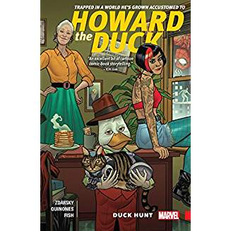 HOWARD THE DUCK TP VOL 01 DUCK HUNT