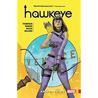 HAWKEYE KATE BISHOP TP VOL 01 ANCHOR POINTS