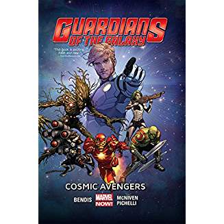 GUARDIANS OF THE GALAXY TP VOL 01 COSMIC AVENGERS