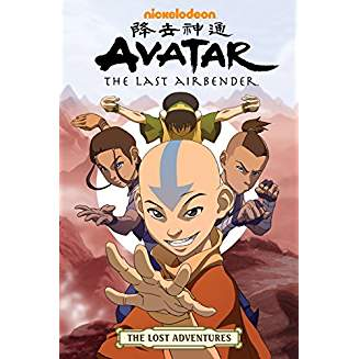 AVATAR LAST AIRBENDER LOST ADVENTURES TP VOL 01