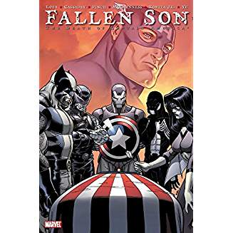 FALLEN SON DEATH OF CAPTAIN AMERICA TP
