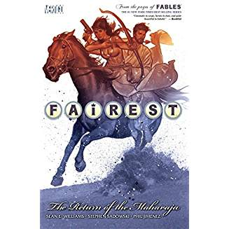 FAIREST TP VOL 03 RETURN OF THE MAHARAJA