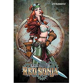 LEGENDERRY RED SONJA TP VOL 02 STEAMPUNK ADVENTURE