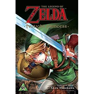 LEGEND OF ZELDA TWILIGHT PRINCESS GN VOL 02