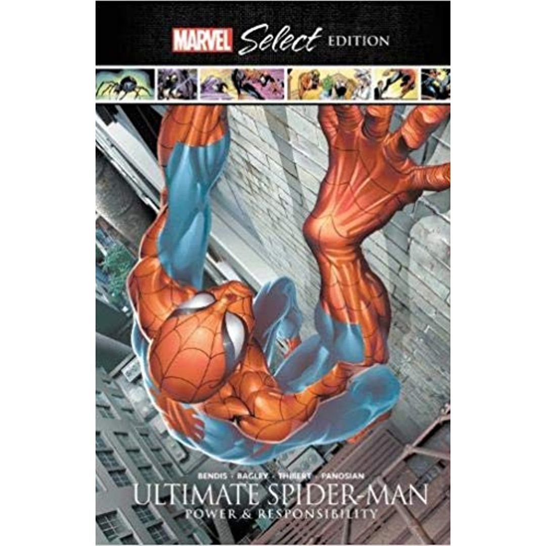 SPIDER-MAN HC ULTIMATE POWER & RESPONSIBILITY MARVEL SELECT