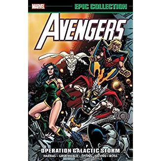 AVENGERS EPIC COLLECTION OPERATION GALACTIC STORM TP