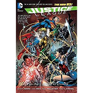 Justice League Vol. 3: Throne of Atlantis