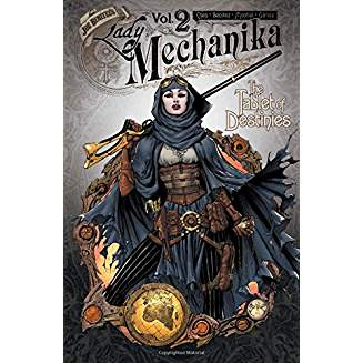 LADY MECHANIKA TP VOL 02 TABLET OF DESTINIES