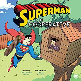 SUPERMAN IS COOPERATIVE YR PICTURE BOOK