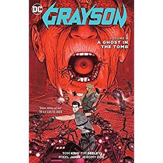 Grayson Vol. 4: A Ghost in the Tomb