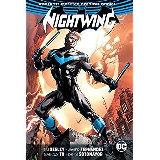 NIGHTWING REBIRTH DELUXE COLLECTION HC BOOK 01