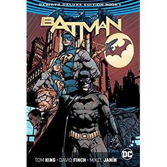 BATMAN REBIRTH DLX COLL HC BOOK 01