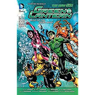 GREEN LANTERN RISE OF THE THIRD ARMY TP