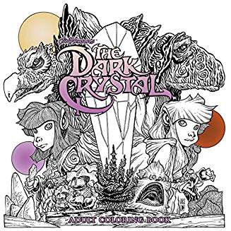 JIM HENSON DARK CRYSTAL ADULT COLORING