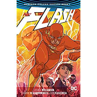 FLASH REBIRTH DELUXE EDITION HC BOOK 1