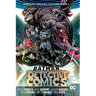 BATMAN DETECTIVE COMICS REBIRTH DELUXE HC BOOK 01