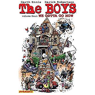 THE BOYS TP VOL 04 WE GOTTA GO NOW SIGNED BY GARTH ENNIS