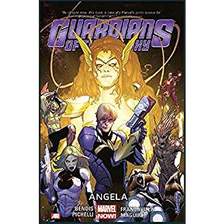 GUARDIANS OF THE GALAXY TP VOL 02 ANGELA