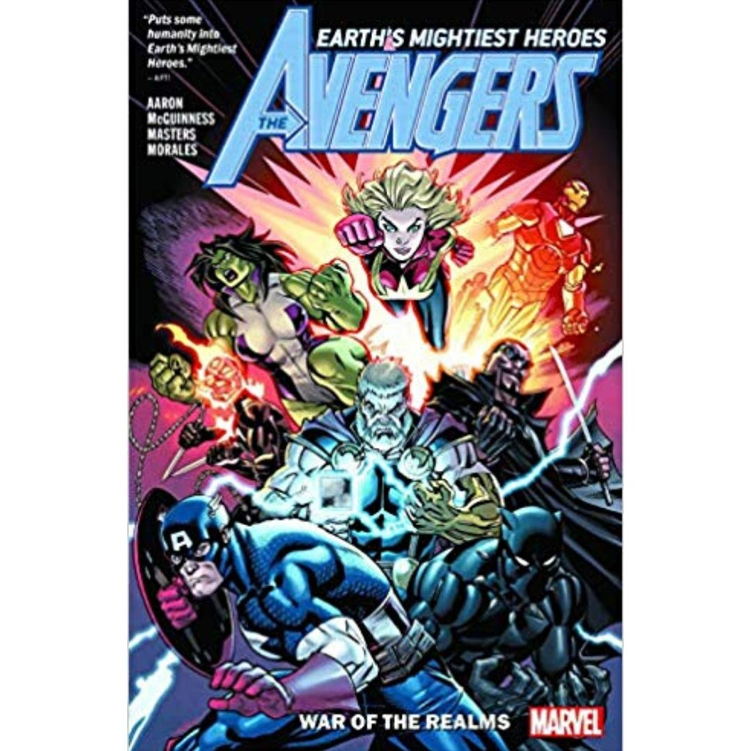 AVENGERS BY JASON AARON TP VOL 04 WAR OF THE REALMS