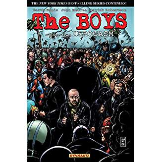 THE BOYS TP VOL 05 HEROGASM SIGNED BY GARTH ENNIS