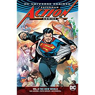 Superman - Action Comics Vol. 4 The New World (REBIRTH)