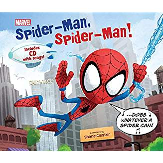 SPIDER-MAN SPIDER-MAN W CD WITH SONG