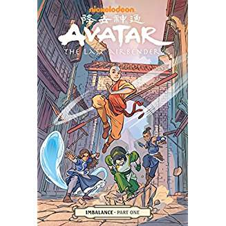AVATAR THE LAST AIRBENDER IMBALANCE PART ONE TP