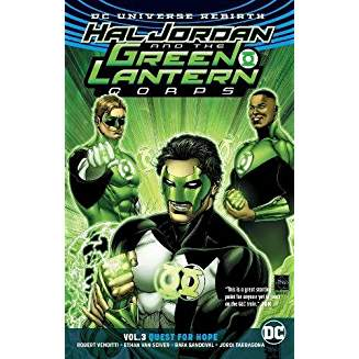 Hal Jordan and the Green Lantern Corps Vol. 3 Quest for Hope