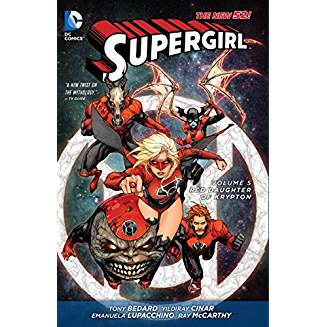 Supergirl Vol. 5: Red Daughter of Krypton (The New 52)