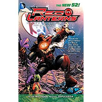 Red Lanterns Vol. 2 Death of the Red Lanterns