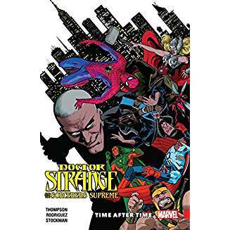 DOCTOR STRANGE AND THE SORCERERS SUPREME TP VOL 02 TIME AFTER TIME