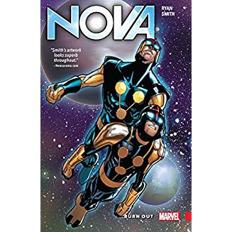 NOVA HUMAN ROCKET TP VOL 01 BURN OUT