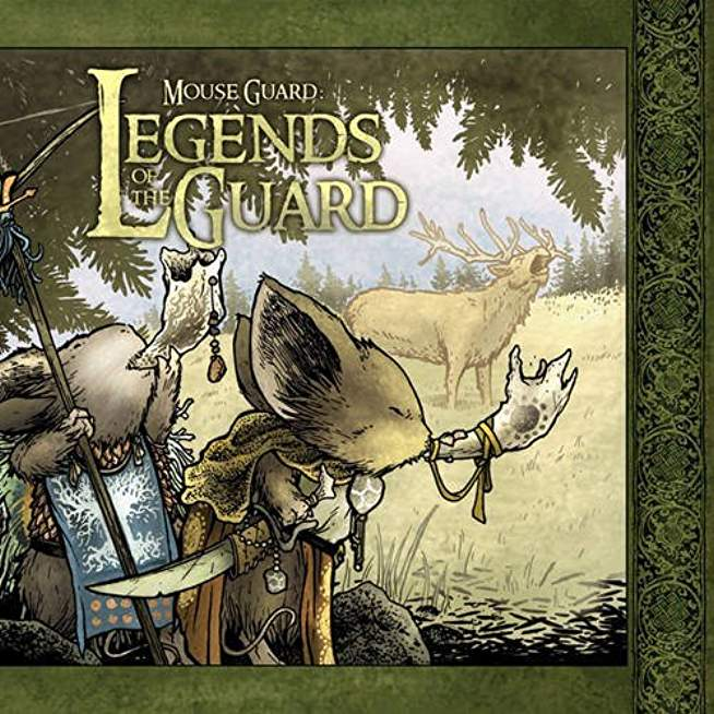 MOUSE GUARD LEGENDS OF GUARD HC VOL 01