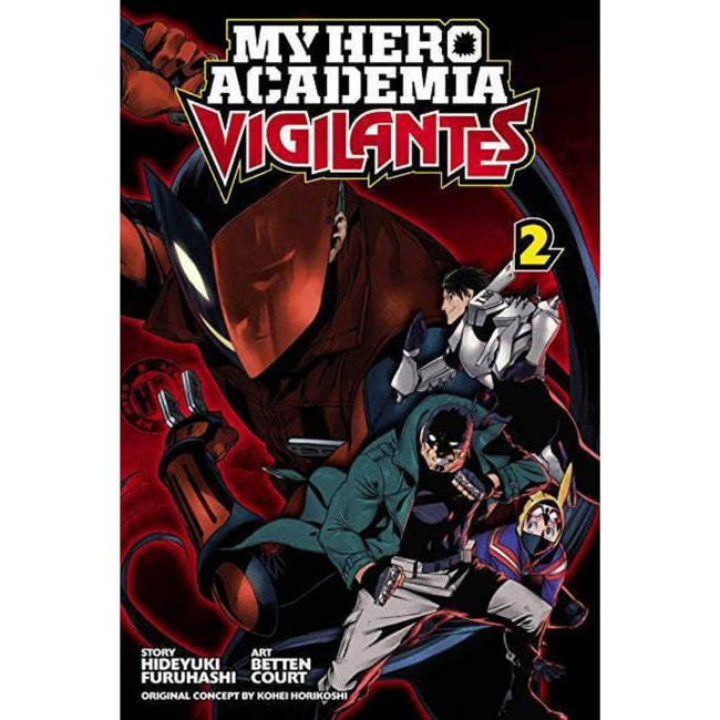 MY HERO ACADEMIA VIGILANTES GN VOL 02