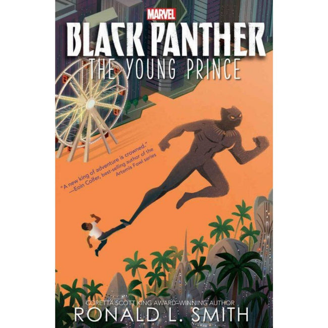 Black Panther: the young prince HC novel
