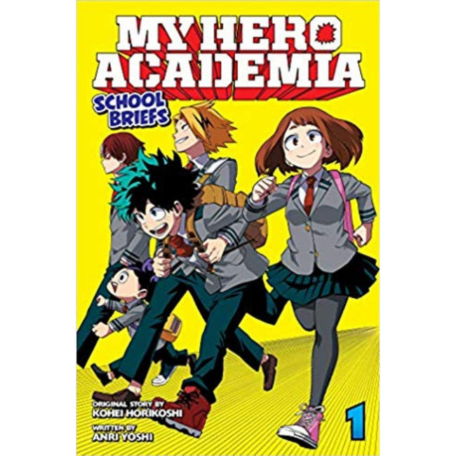 MY HERO ACADEMIA SCHOOL BRIEFS NOVEL SC VOL 01
