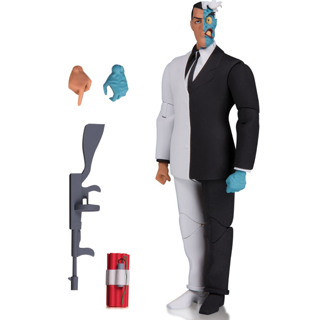BATMAN ANIMATED TWO FACE ACTION FIGURE