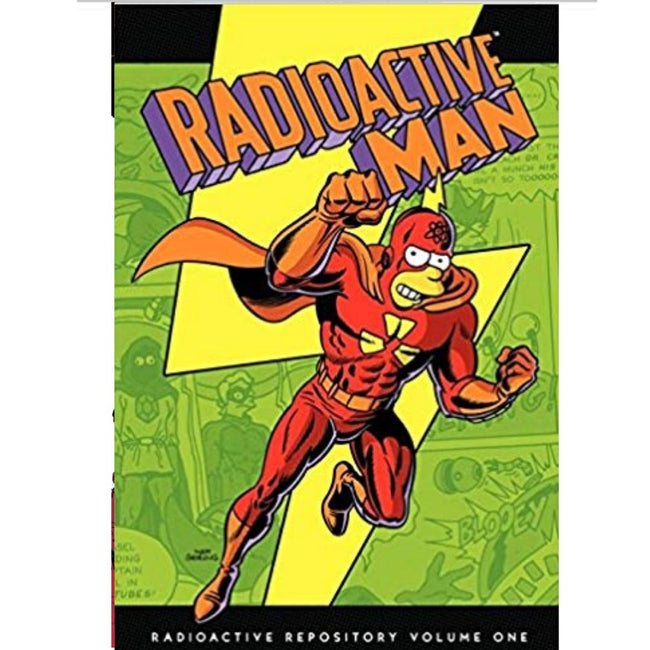 SIMPSONS : RADIOACTIVE MAN HC VOL 1 RADIOACTIVE REPOSITORY