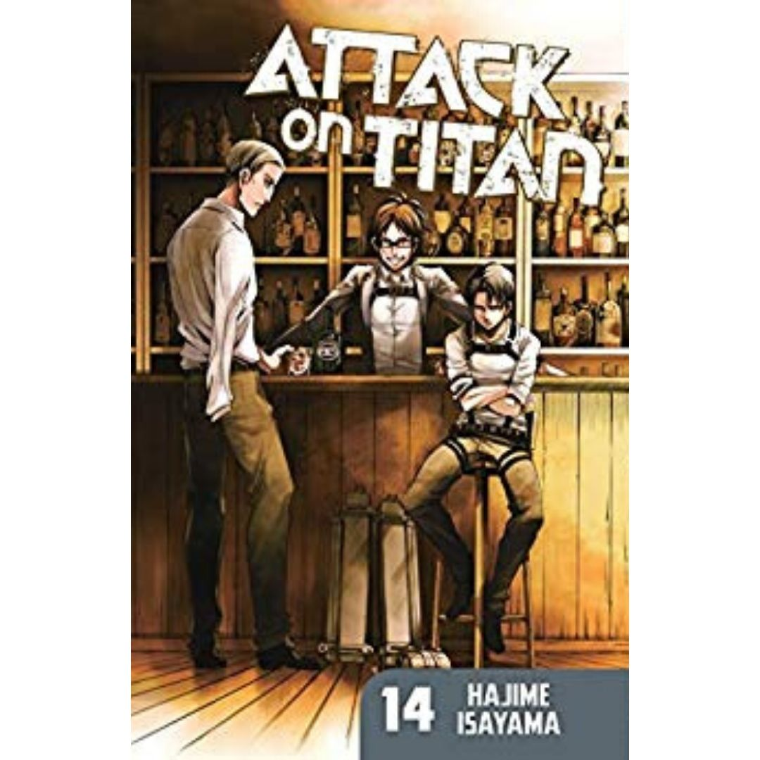 ATTACK ON TITAN TP VOL 14